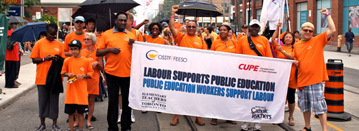 Photos: Toronto Labour Day Parade 2013