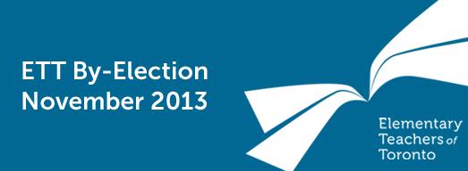 ETT November 2013 By-Election: Thank You!