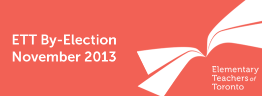 ETT November 2013 By-Election: Results