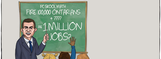"Tim Hudak's ""Math"" Doesn't Add Up"