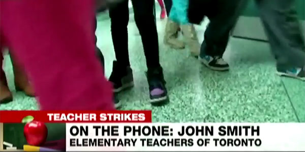ETT President John Smith Speaks to CP24 Regarding TDSB Decision to Send Out Report Cards