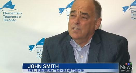 ETT President John Smith Speaks to CTV About Escalating Job Action