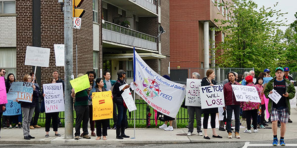 ETT Stands With Parkdale Tenants in Fight for Better Living Conditions