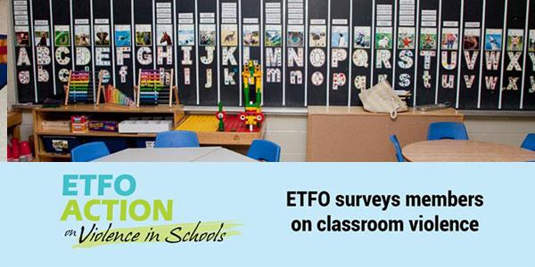 ETFO Workplace Violence Survey