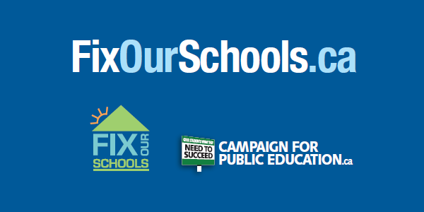 Fix Our Schools: Provincial Election