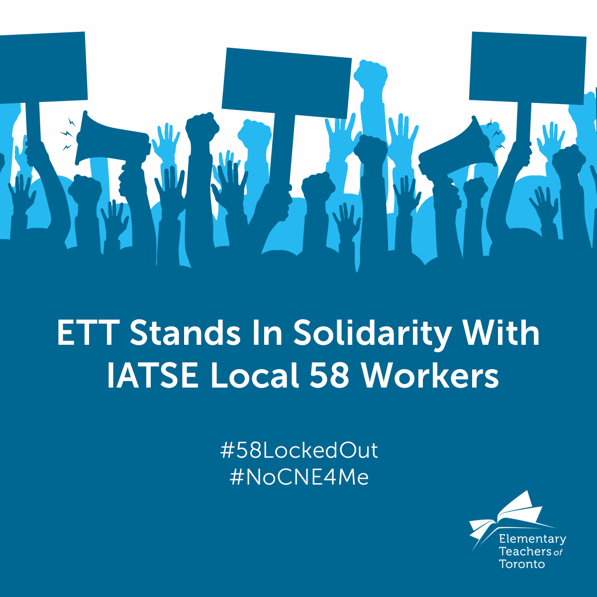 ETT Stands In Solidarity With IATSE Local 58 Workers