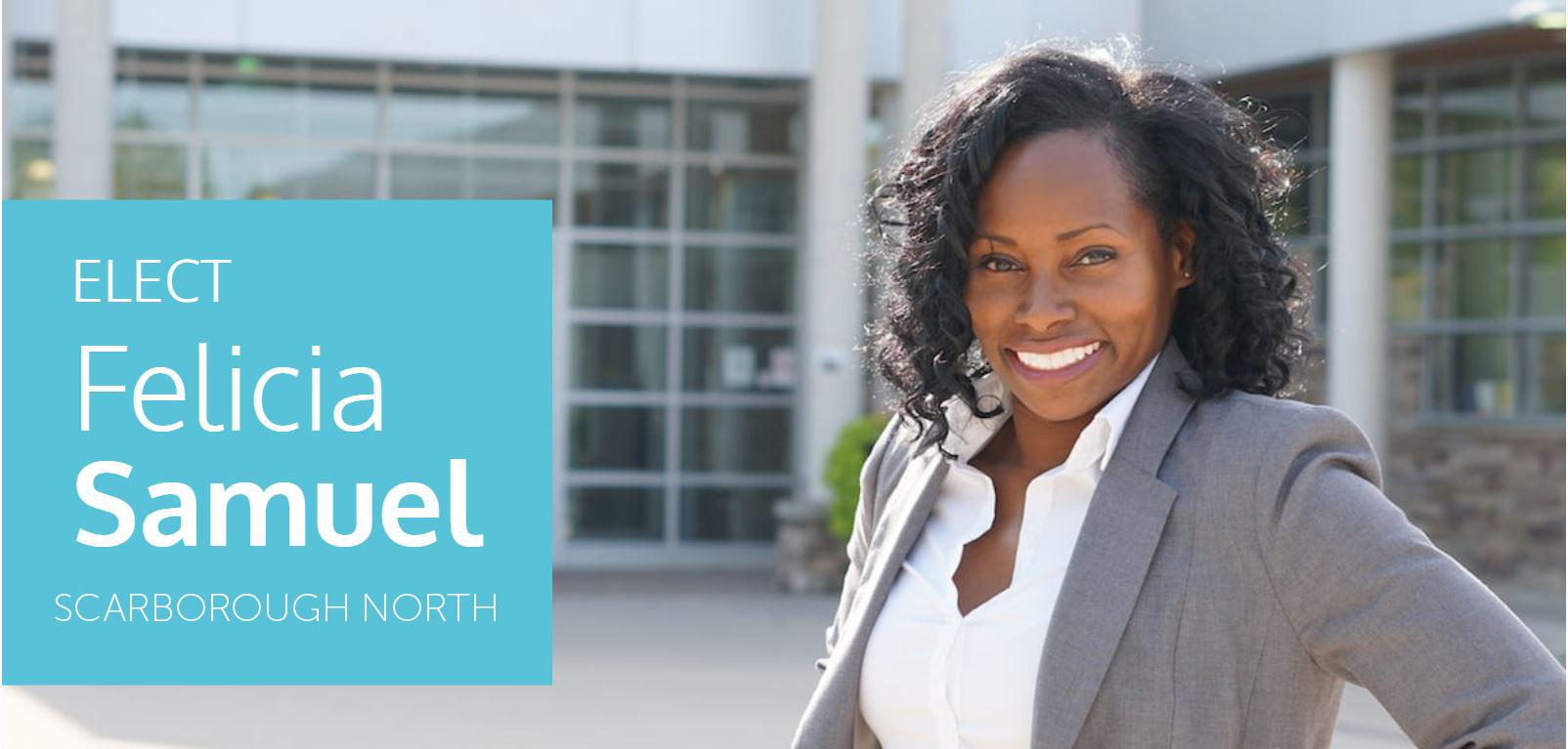 ETT EO Felicia Samuel for Councillor in Scarborough North