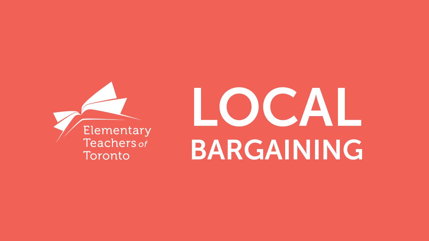 Local Bargaining Update