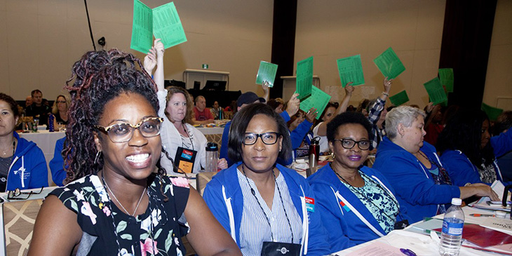 ETFO Annual Meeting 2021 Delegates