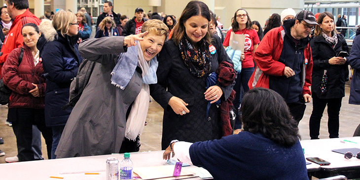 ETT Members Demonstrate Solidarity with Incredible Strike Vote Turnout