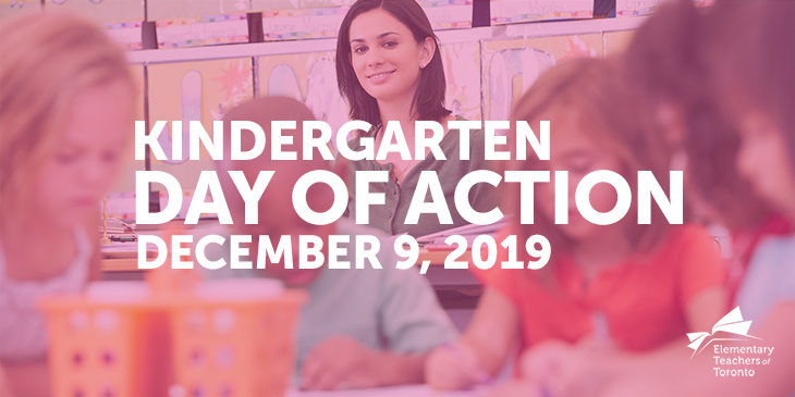Kindergarten Day of Action – December 9