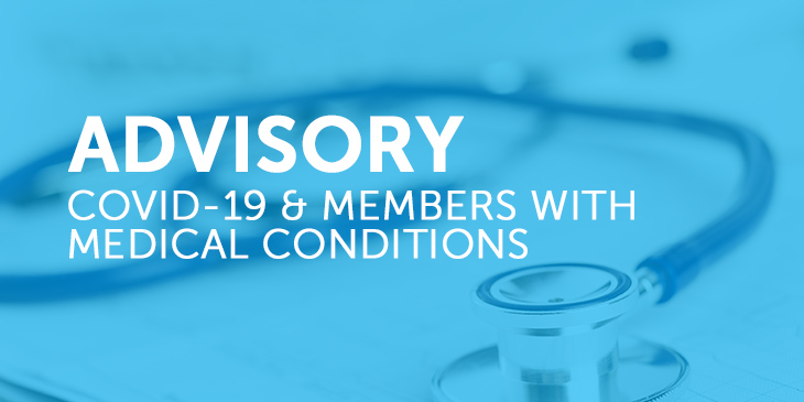 COVID-19 and Return to School: Advice to ETT Members With Medical Conditions