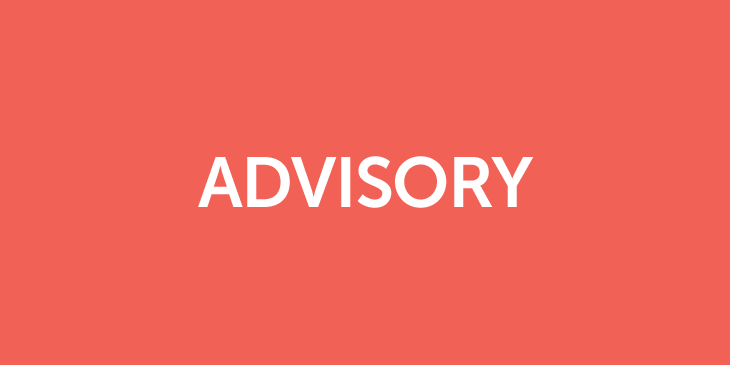 Advisory: Program of Study and Student Absence