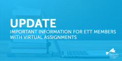 Important Virtual Assignment Update