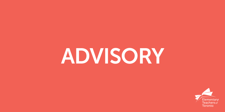 Advisory: Filling Teacher Absences