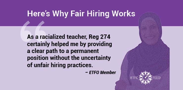 ETFO Media Release: Ontario Education Minister Creates Further Chaos in Schools, Reopens Door to Nepotism and Cronyism in Teacher Hiring Practices