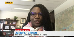 Video: The Ford Government Has Failed Us, Says ETT President Jennifer Brown to CTV News