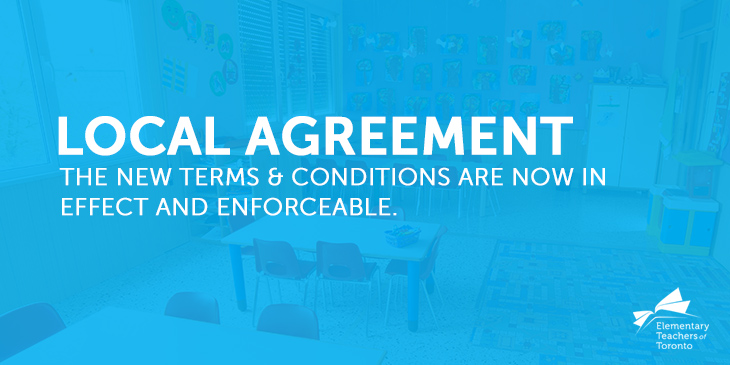 ETT Local Collective Agreement Ratified By All Parties; Now In Effect and Enforceable